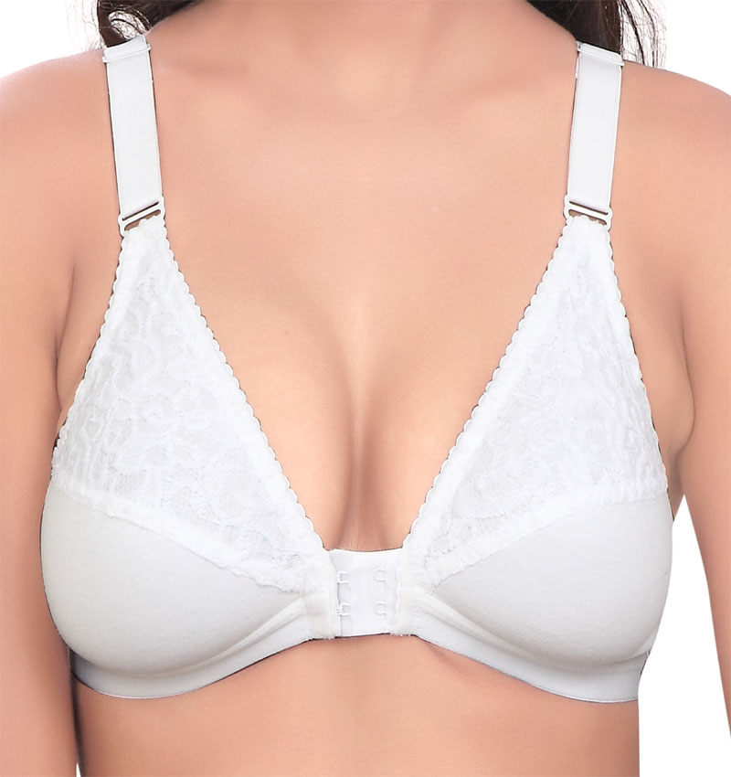 62c3a17498743 Bali Softy Lacy Front Open Bra – Softy Bra – Push Up Bra, Maternity ...