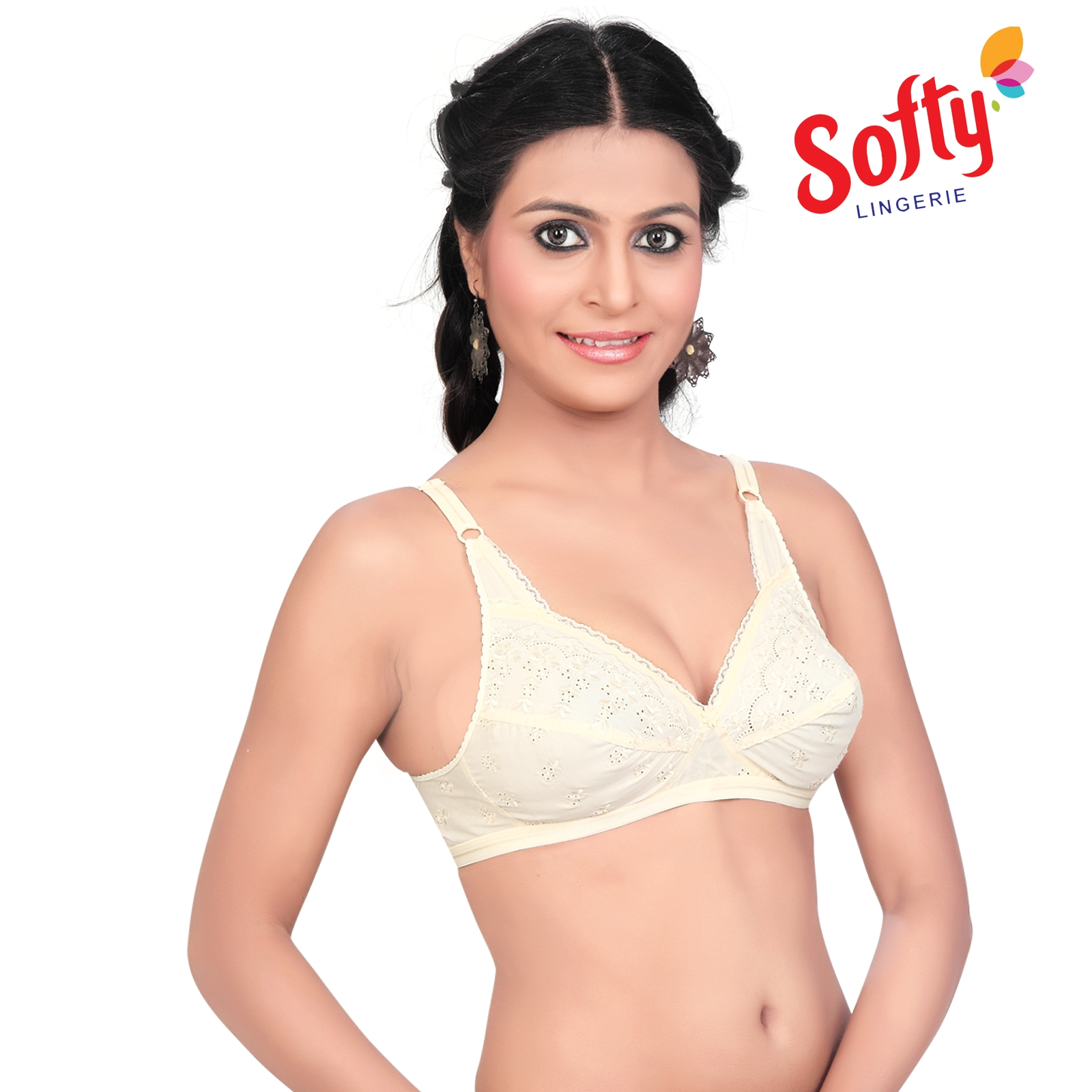 0c23592e77b85 Softy Elegant Embroidered Bra Ravina Skin – Softy Bra – Push Up Bra ...